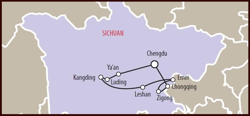 Sichuan-Panda-Cartina