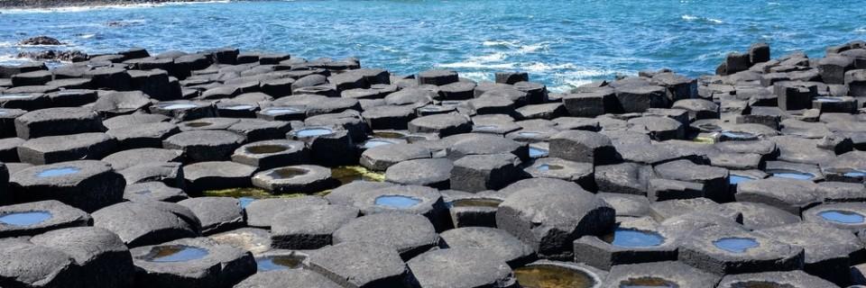 Le Giant's Causeway