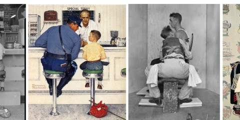 Icone Made in USA: Norman Rockwell