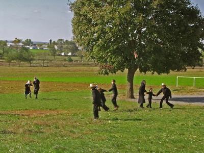 comunità amish - bambini amish