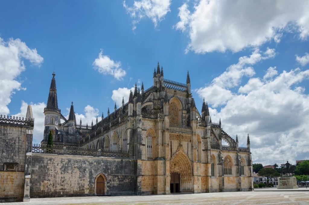 Monastero di Batalha - tour del Portogallo Caldana
