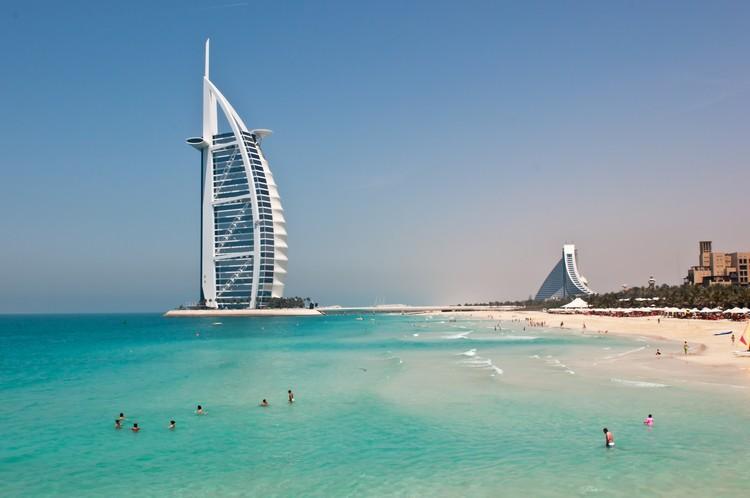 Hotel a forma di vela - Capodanno a Dubai