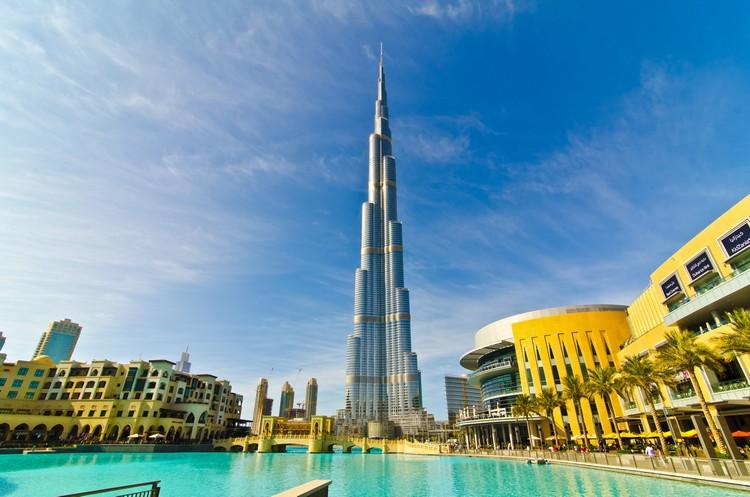 panoramica del Burj Khalifa - Dubai