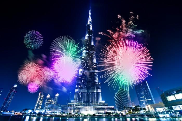Burj Khalifa - Capodanno a Dubai