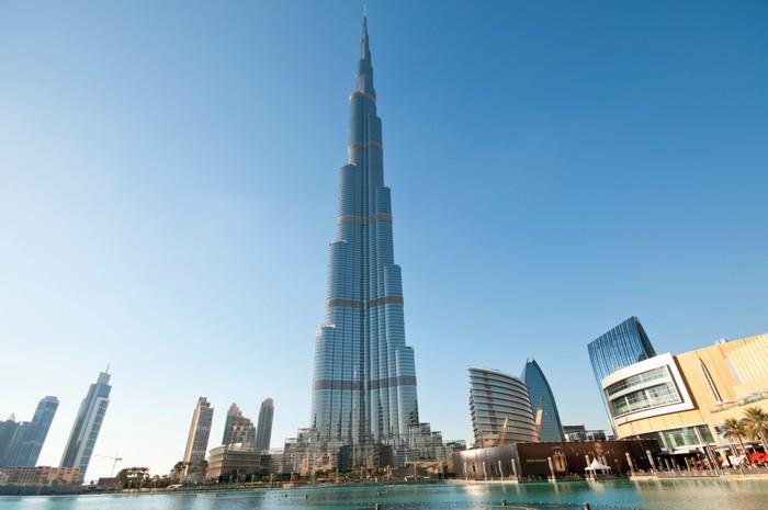 Burj Khalifa di giorno - Capodanno a Dubai