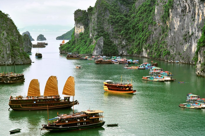 Viaggio in Vietnam - Halong Bay