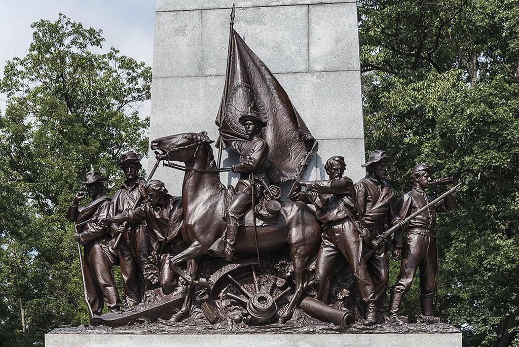 zingarando negli stati uniti - gettysburg