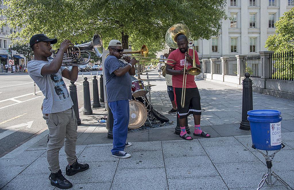 musica in strada - zingarando negli stati uniti