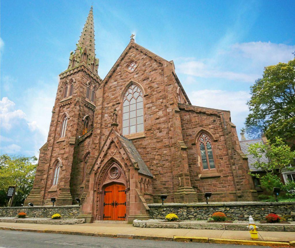 La chiesa di St. Mary a Newport