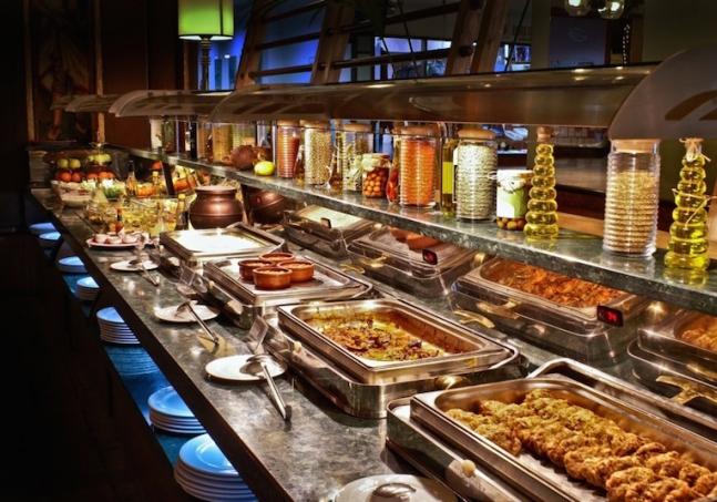 Utat hotel buffet