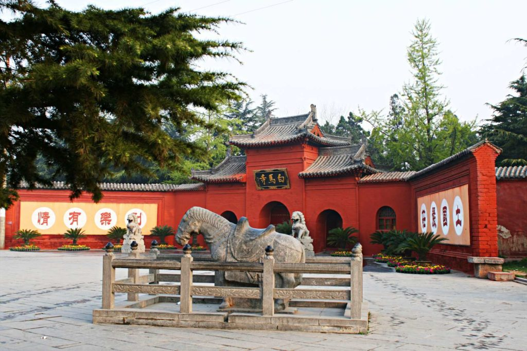 Luoyan Tempio Cavallo Bianco
