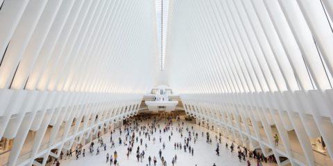 L'Oculus, opera di Calatrava a New York